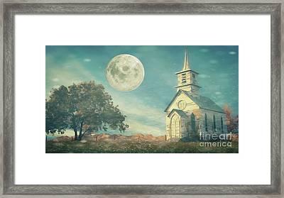 The Old Church House Framed Print