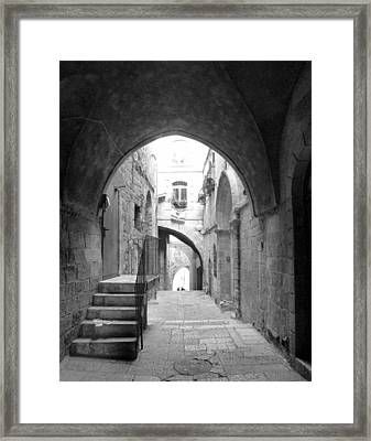 The Old City Framed Print