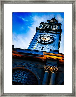 The Old Clock Tower Framed Print