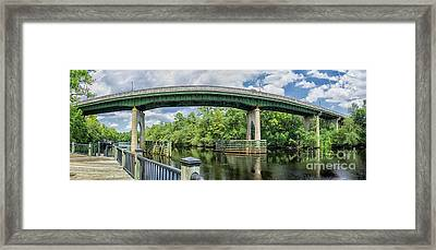 The Old Conway Bridge Framed Print