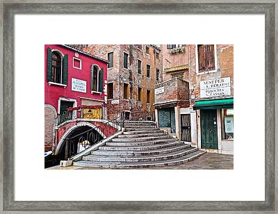 The Old Country Framed Print