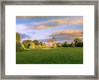 The Old Country House Framed Print by Roy McPeak