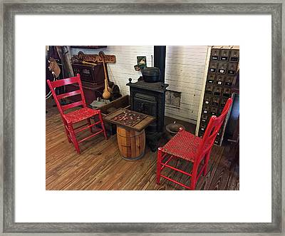 The Old Country Store Framed Print by Denise Mazzocco