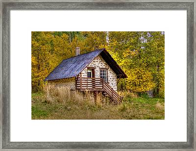 The Old Creamery Framed Print