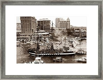 The Old Crew Of Gaspar Framed Print by David Lee Thompson