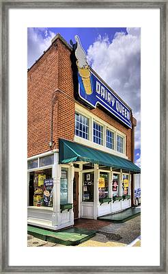 The Old Dairy Queen Framed Print