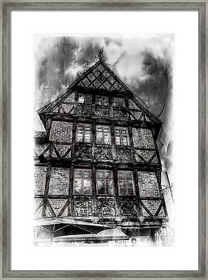 The Old Danish Buiding Framed Print