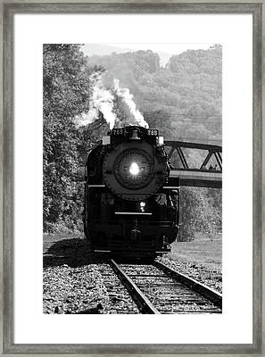 The Old Engine Framed Print
