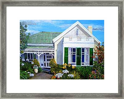 The Old Farm House Framed Print by Michael Durst