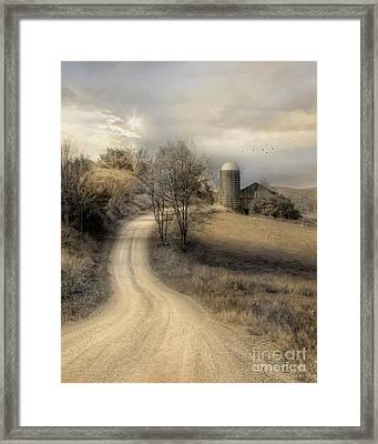 The Old Farm Framed Print by Lori Deiter