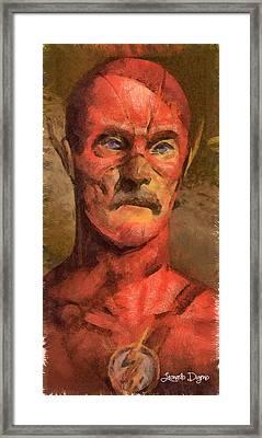 The Old Flash Framed Print by Leonardo Digenio