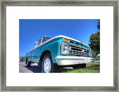 The Old Ford Framed Print