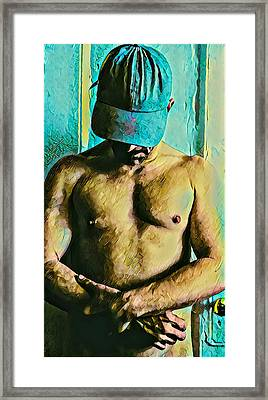 The Narcissistic Meth Addict Framed Print by Irvin Kelly