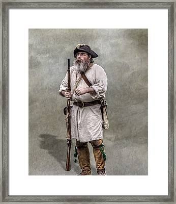 The Old Frontiersman   Framed Print