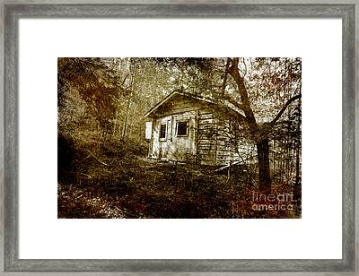 The Old Garage Framed Print by Michael Eingle