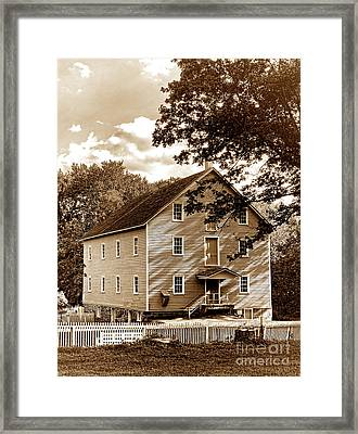 The Old Gristmill  Framed Print