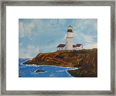 The Old Guard Framed Print by Dennis Poyant