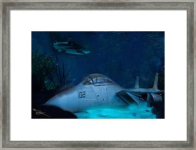 The Old Guard For The Tomcat Framed Print by Mark Vizcarra
