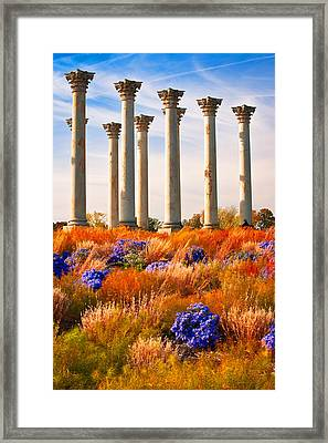 The Old Guards Framed Print by Bernard Chen