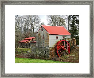 The Old Guilford Mill Framed Print