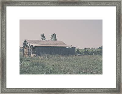 The Old Hay Barn Framed Print