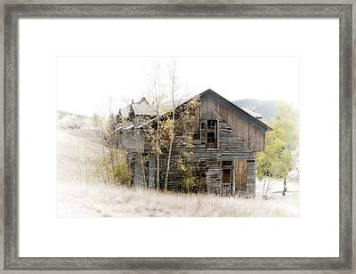 The Old Home Framed Print by Graham Hughes
