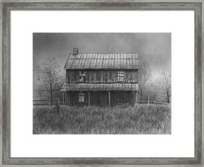 The Old Home Place Framed Print by Ralph Cale