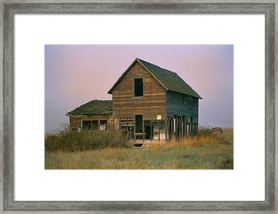 The Old Homestead Framed Print by JoJo Photography