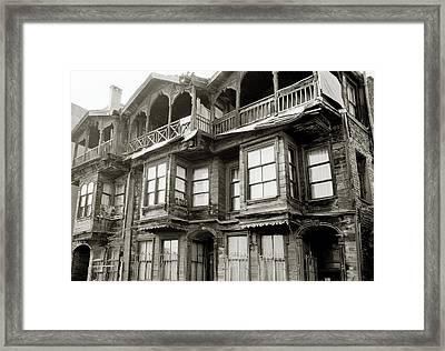 The Old House Framed Print