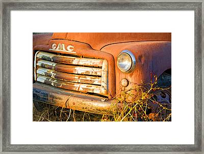 The Old Jimmy Framed Print by Patricia Stalter