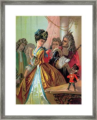 The Old King And The Nutcracker Prince Framed Print by Carl Offterdinger