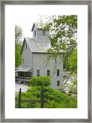 The Old Kingsley Mill Framed Print by Rosalie Scanlon