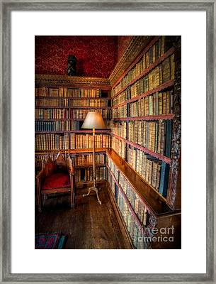 The Old Library Framed Print by Adrian Evans