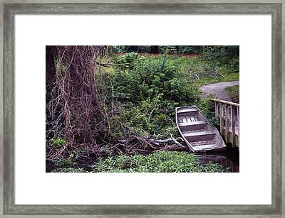 The Old Lichterman Framed Print by Bob Guthridge
