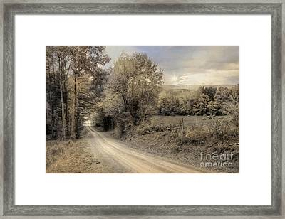 The Old Lifestyle Framed Print