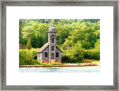 The Old Light Framed Print