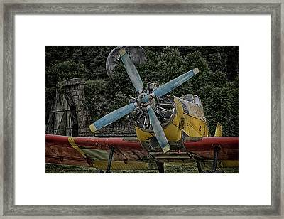 The Old Little Yellow One Framed Print