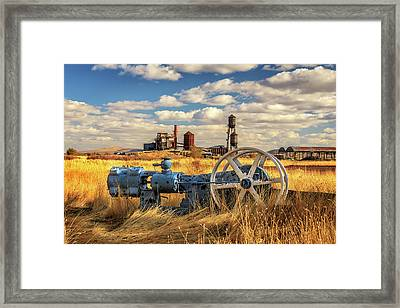 The Old Lumber Mill Framed Print