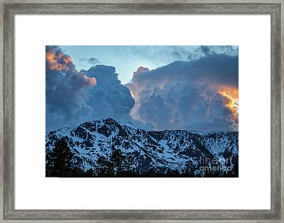 The Old Man Of The Mountain Framed Print
