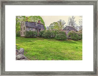 The Old Manse Concord, Massachusetts Framed Print