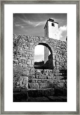 The Old Medieval Fortress Framed Print