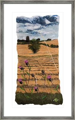 The Old Mill At Appleton Framed Print by Bridget Karn