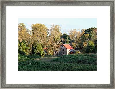 The Old Mill At Guilford II Framed Print by Suzanne Gaff