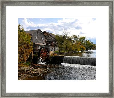 The Old Mill Framed Print by Brittany H