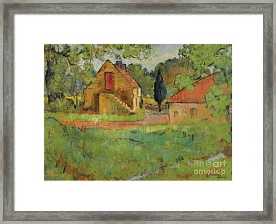 The Old Mill, Fife Framed Print by Celestial Images