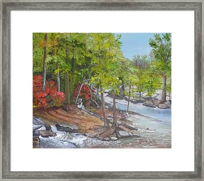The Old Mill Framed Print by Gloria Smith