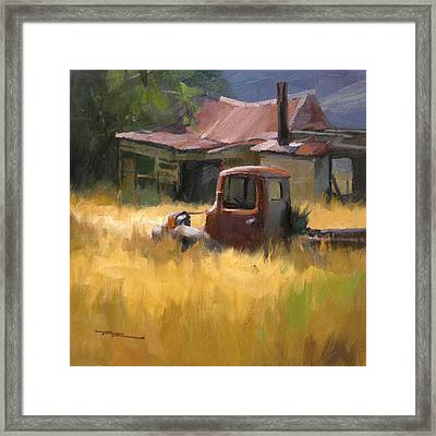 The Old Mill House Framed Print