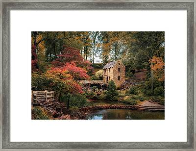 The Old Mill Framed Print by James Barber