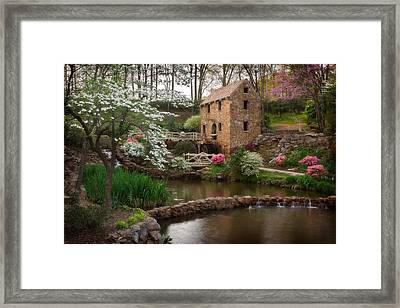 The Old Mill Framed Print by Jonas Wingfield