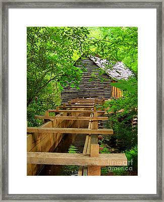The Old Mill Framed Print by Southern Photo